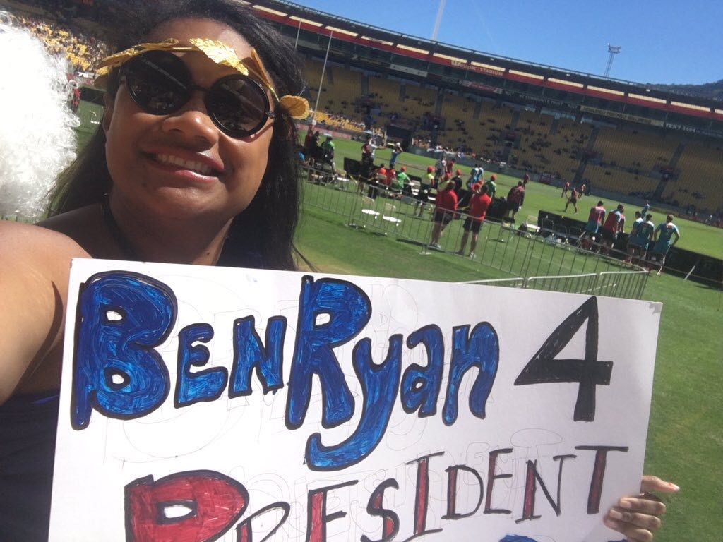 Uludamu - Ben Ryan for President