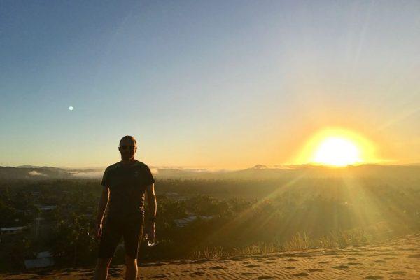 Uludamu - Ben and sunset